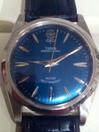 Tudor Big - Rose Oyster Armbanduhr Automatic Neues Band Läuft Bild