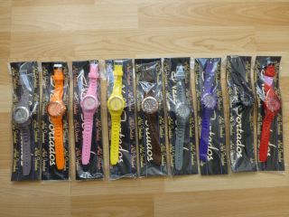 Nele Fortados Watch Armbanduhr Unisex Silikon Uhr Damen Herren Quarz Sport Uhre Bild