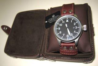 Aristo Uhr 3h109 - Grosse Fliegeruhr - 47 Mm - Automatikwerk,  Eta 2824 - 2 Bild