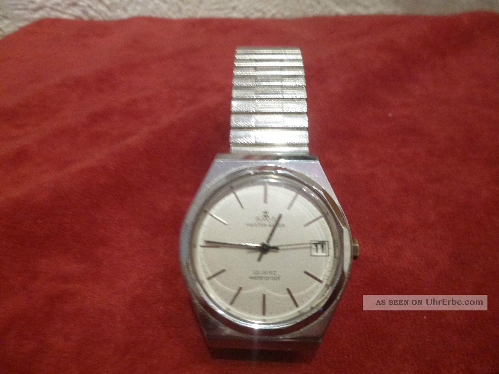 Meister - Anker Quartz Armbanduhr Flexband Armbanduhren Bild