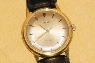 Laco 440 21 Jewels Herrenuhr Per Handaufzug - Seltenes Modell Bild