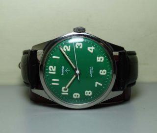 Herren Hmt Military Handaufzug 17 Lochsteine Gc22696 Stahl Uhren Watch H541 Bild