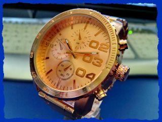 Neue Armbanduhr Quarz Rosé Gebürstet 55 Mm Schnäppchenpreis Voll Im Trend Liegen Bild