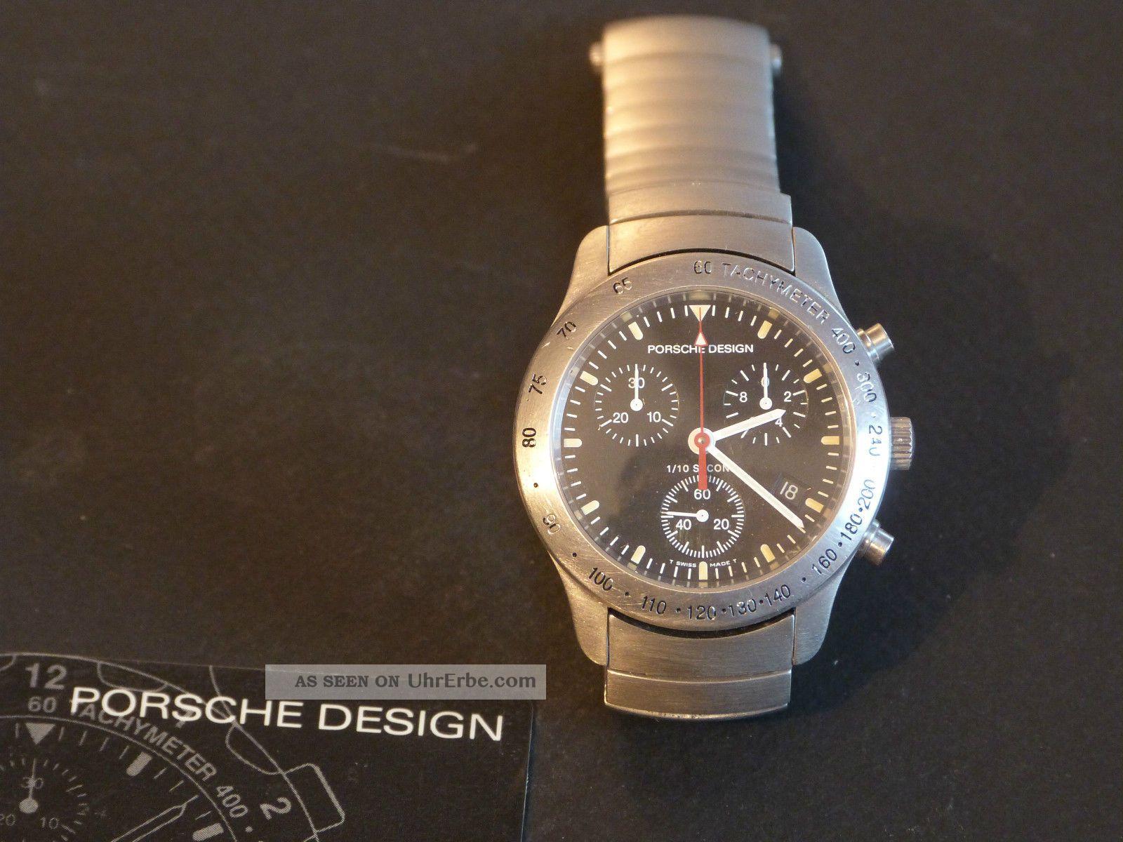 Eterna Porsche 6600.  41 Armbanduhren Bild
