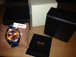 Hugo Boss Orange Armbanduhr / Ovp Quarz / Edelstahl Art.  Nr.  1512900 Bild