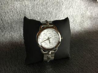 Karl Lagerfeld Damenuhr / Uhr Kl2203 Edelstahl Nieten Armband Unisex Bild
