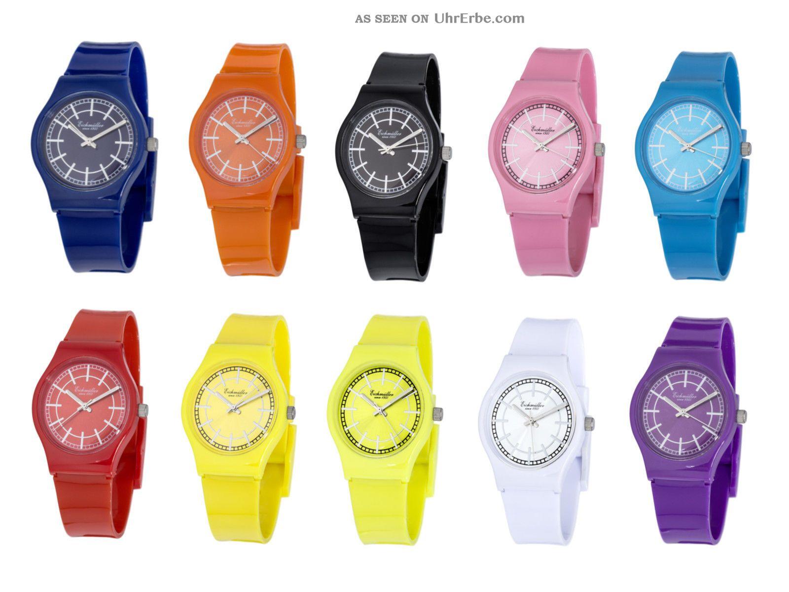 Trend Uhr,  Armband Uhren,  Rot Gelb Blau Lila Orange Weiß Schwarz Rosa Türkis Armbanduhren Bild