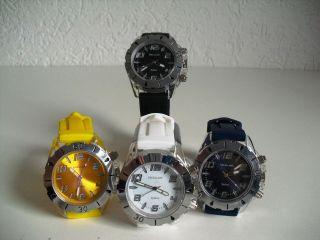 Moderne Silikonuhr Excellanc Uhr Unisexuhr Armbanduhr Mit Lichteffekten Bild