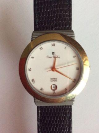 Pierre Cardin Chromachron Titan Armbanduhr Bild