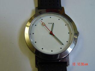 Wmc Uhr Neue Batterie Läuft Ungetragen Lagerspuren S.  Bild Armband Bild