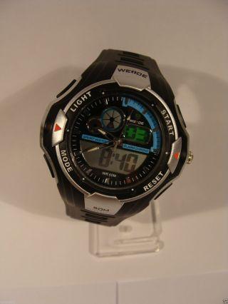 Weide Led Armbanduhr Herrenuhr Sportuhr Digitaluhr Quarzuhr Uhr Bild