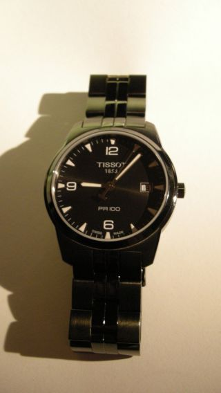 Tissot Pr 100 Quarz T049.  410.  33.  057.  00 Saphirglas 15 Monate Restgarantie Bild