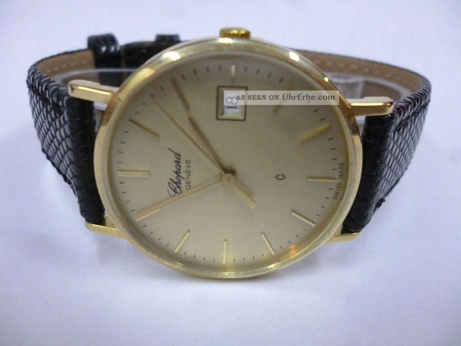 Chopard 750 Gelb Gold Perfekter Armbanduhren Bild
