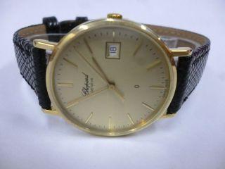 Chopard 750 Gelb Gold Perfekter Bild