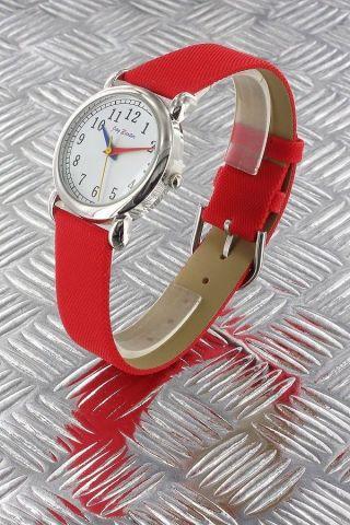 Jay Baxter Damen Uhr,  Kinder Lernuhr Quarz Lederdesign Uhr Verschiedene Farben Bild