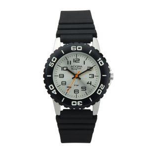 Kinderuhr Jungen Uhr Schwarz Silbern Fachhandel Qualität Citizen Miyota 1200571 Bild