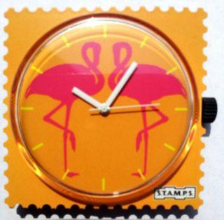 S.  T.  A.  M.  P.  S.  - Uhr - Flamingo Bild