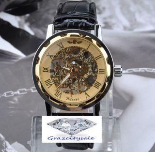Armbanduhr Winner Skelett Design 3 Variationen Zur Auswahl Bild