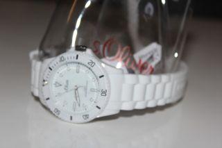 S.  Oliver Unisex - Armbanduhr Medium Size Analog Silikon Weiß So - 2291 - Pq Bild