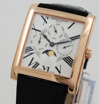 Frederique Constant Fc265x3c246 Armbanduhr Mit Mondphase Bild