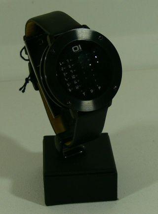 Oi The One Herren - Armbanduhr/ Uhr/ Mod - Irr202rb1/ Led Anzeige/ Neu&ovp 10 Bild