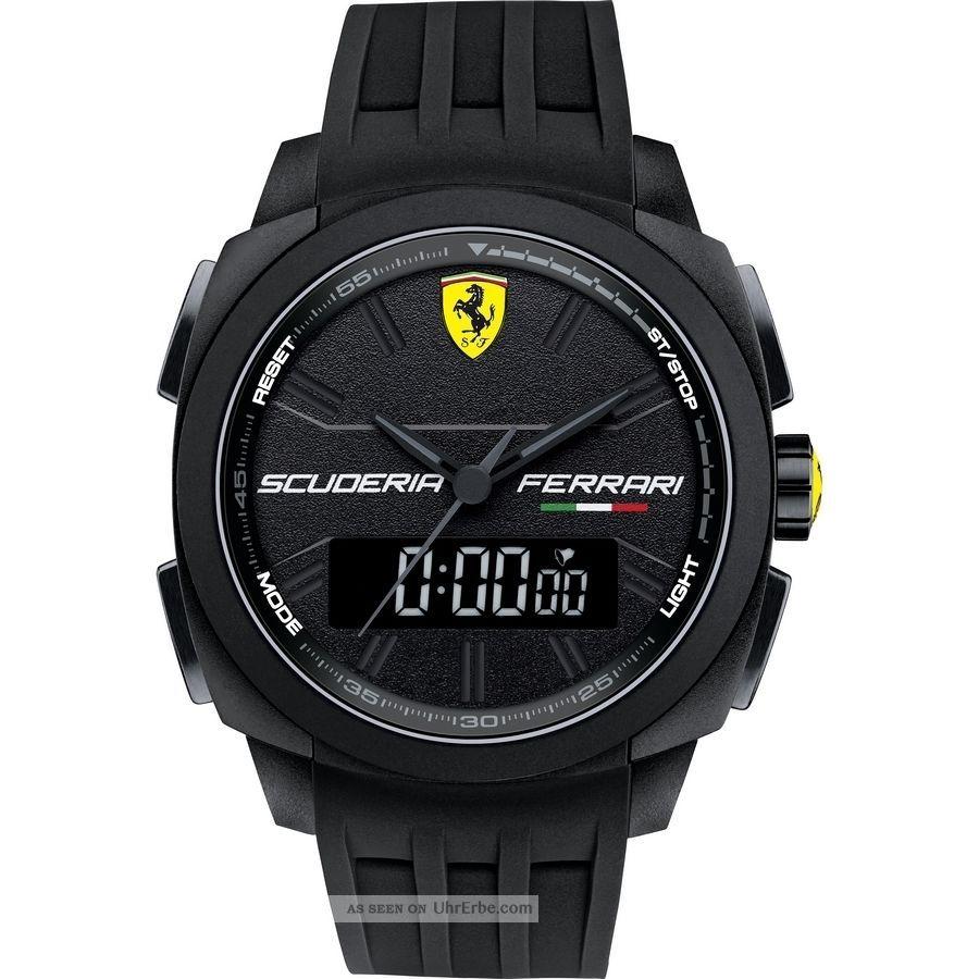 Ferrari Herrenuhr 0830122 Aerodinamico Analog/digital,  830122,  Ovp Armbanduhren Bild
