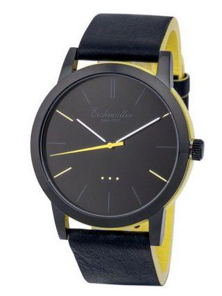Modische EichmÜller 2 - Farben Design Uhr 4004 Herrenuhr Damenuhr Watch,  Gelb Bild