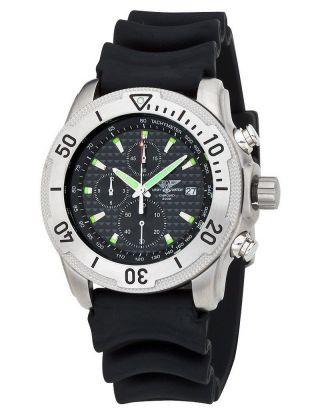 EichmÜller Uhr Army Watch 200 Taucheruhr Chronograph 45 Mm Miyota Edelstahl Bild