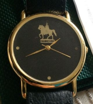 Scs International Armbanduhr Hannover Uhr Sammleruhr Ernst August Denkmal Lim. Bild