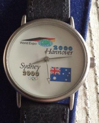 Scs International Armbanduhr Hannover Uhr Sammleruhr Expo 2000 Sydney Hannover Bild