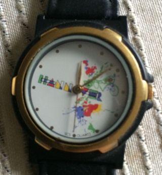 Scs International Armbanduhr Uhr Sammleruhr Hannover Bunt Wie Nana ' S Nani ' S Bild