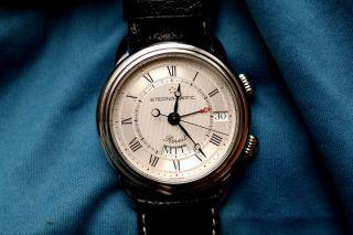 Eterna - Matic Reveil 1948 Wecker Armbanduhr Bild