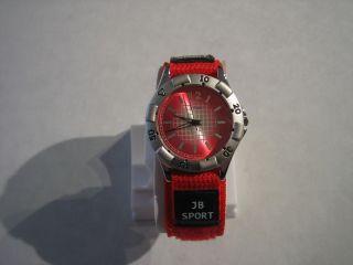 Jay Baxter - Damen Sport Uhr Armbanduhr Textilarmband,  Kinder - A1232 Bild
