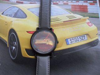 Luxus Hochwertige Porsche Uhr Swiss Made Limited Selten FÜr Sammler Bild