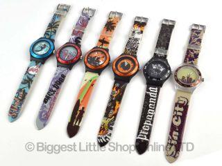 Herren Teenager Uhr Quarz Surf Goth Punk Fashion 6 Verschiedene Designs Bild