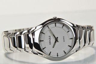 Kienzle Herren Uhr Quartz Edelstahl Mit Metall Armband Sehr Flach V71091337410 Bild