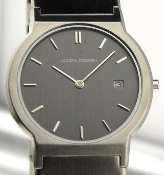 Armbanduhr Adora Design Mit Datum - Mineralglas - Mit Edelstahl Gliederband Bild