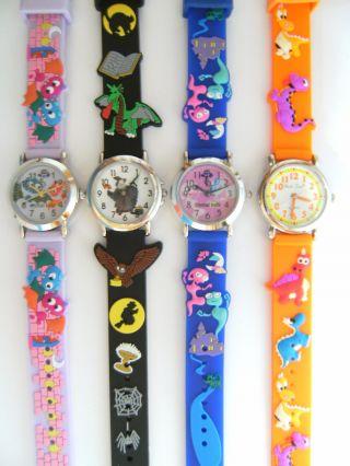 1 Kinderarmbanduhr Fledermaus Zauberer Geister Dinosaurier Kinderuhr Uhr Uhren Bild