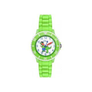 S.  Oliver Kids/kinder Uhr Armbanduhr Aus Silikon/grün/dino So - 3053 - Pq Bild