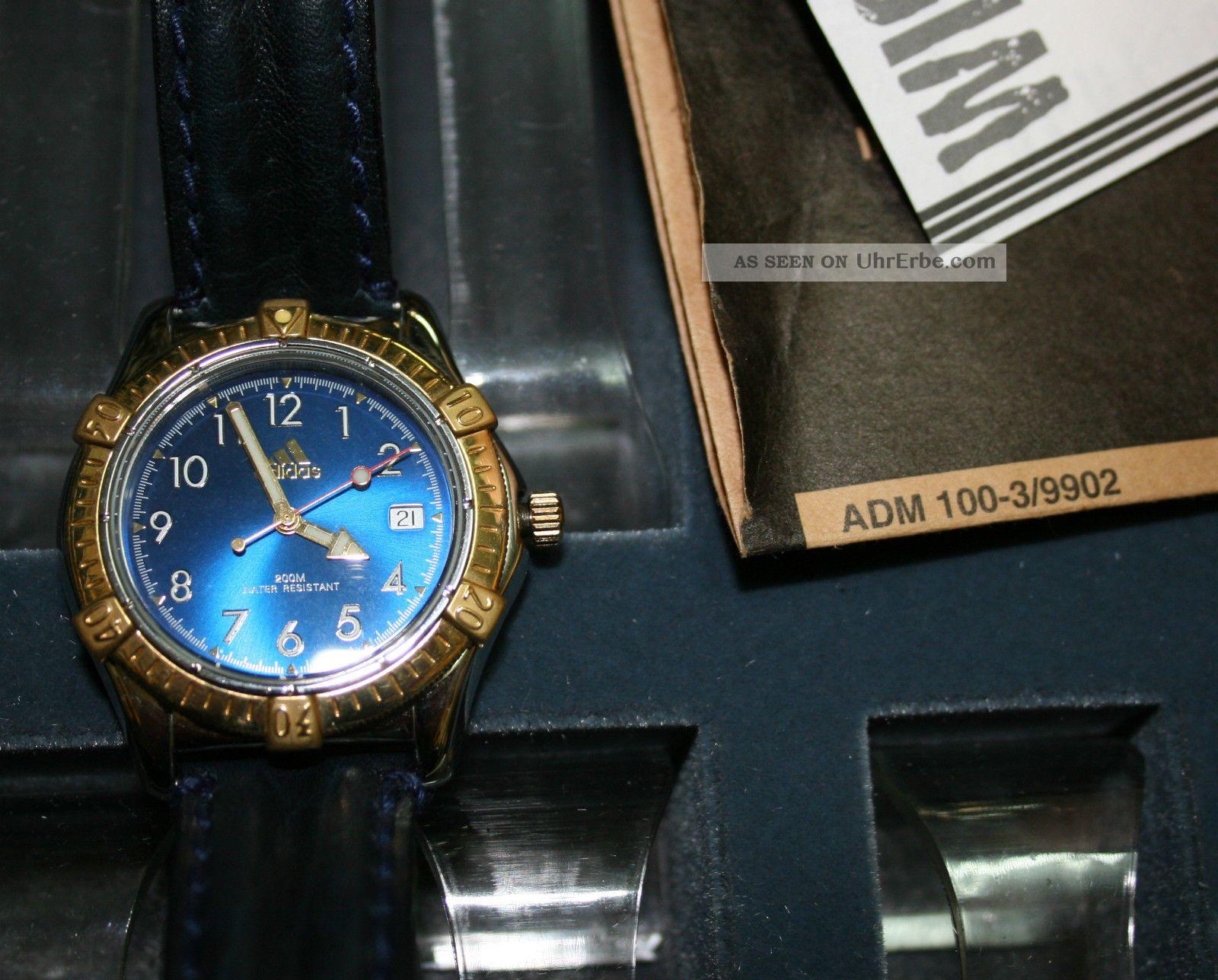 Adidas - 1125727 Sport Watch Rarität Modell 25 Jahre Alt Armbanduhren Bild