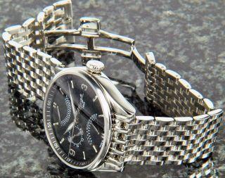 Kienzle 1822 Herrenuhr Quartz Edelstahl Uhr Mit Metall Band Datum V83091342530 Bild