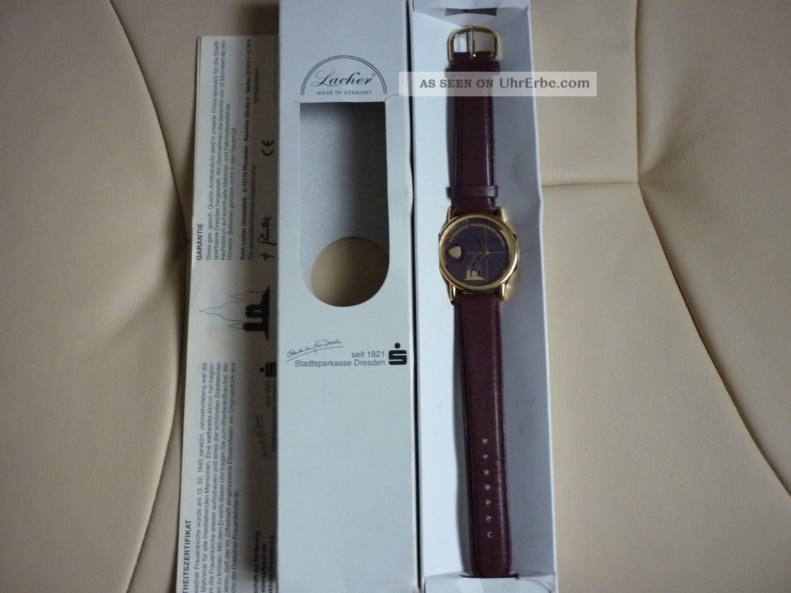 1 Dresdner Frauenkirche Uhr Armbanduhr Edtion 11 Armbanduhren Bild