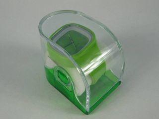 Silikonuhr Silikon Armbanduhr Round & Square ApfelgrÜn In Pvc Box Uhr Unisex Bild