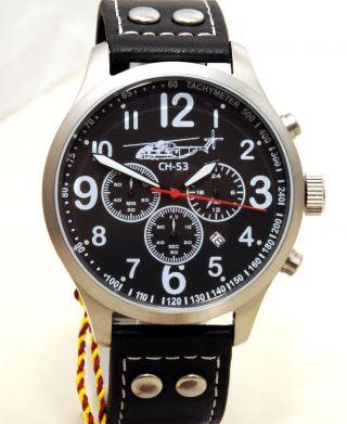 Sikorsky Fliegeruhr Aviator Chrono Armbanduhr Sonderedition Günstig Herren Uhr Bild