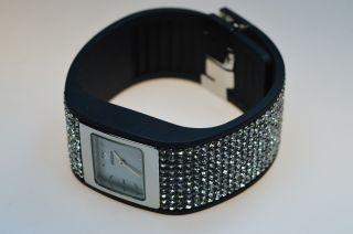Uranium Watch - Schwarzes Armband Mit U - Skin Crystal 110 - 0002 Bild