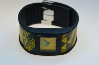 Uranium Watch - Schwarzes Armband Mit U - Skin Danger 110 - 0003 Bild