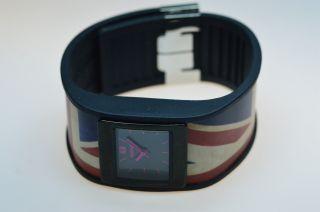 Uranium Watch - Schwarzes Armband Mit U - Skin Uk 110 - 0005 Bild