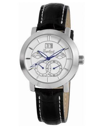 Engelhardt 44 Mm Automatikuhr Business Herrenuhr Edelstahl Uhr Analog Watch Box Bild
