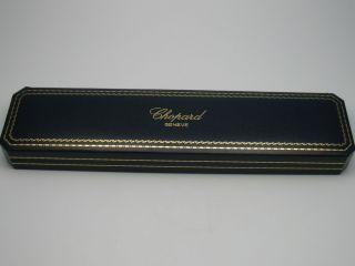 Chopard Geneve : Sehr SchÖne Ältere Uhrenbox In Top Erhaltung Bild