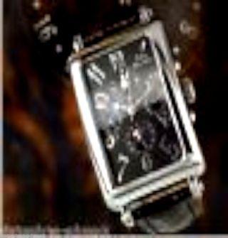 Mechanischer Unisex Dualtimer Zeitzonenuhr Reisewatch 2 Skalen Automatik Bild